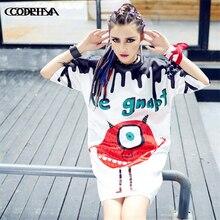 Street Fashion Harajuku t shirt women lo