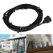 6pcs/set 6m Automatic Micro Drip Irrigation System Plant Watering Sprinkler Garden Misting Cooling Water Kit System