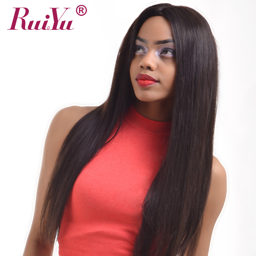 Straight perm and dying hair - Ruiyu Brazilian Straight 100 Human Hair Weave Extensions Natural Black Color 10 28