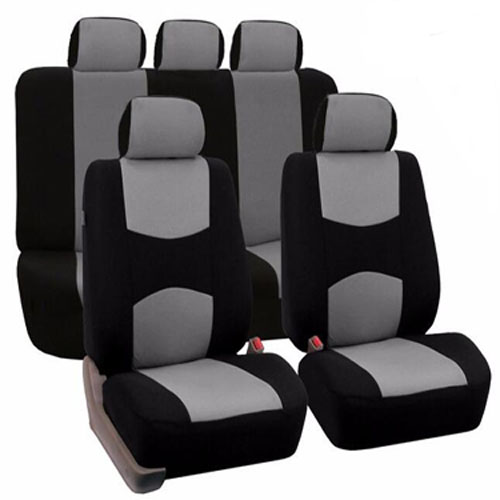 New High Quality Universal Car Seat Cover 9Pieces Full Seat Covers for Crossovers Sedan Auto Interior Styling Decoration Protect