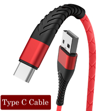 USB Type C Cable To USB C Cable For Samsung S10 S9 Xiaomi mi 9 8 Mobile Phone Charge Cord For Huawei P30 P20 Oneplus 7 Pro Cable