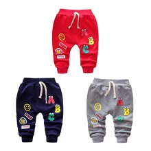 2019 Spring Autumn New Kids Pants Baby Boys Casual Pants Kids Clothing Cotton Boys Long Trousers Baby Boys Clothing Pants-in Pants from Mother & Kids on AliExpress
