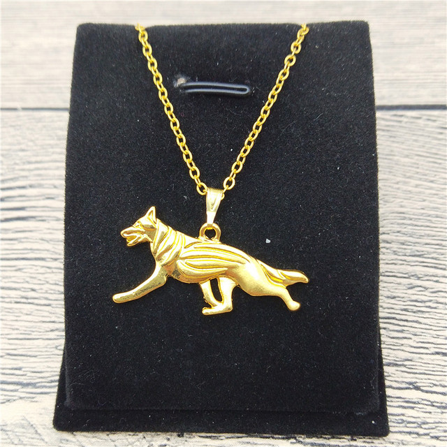 German Shepherd Necklace