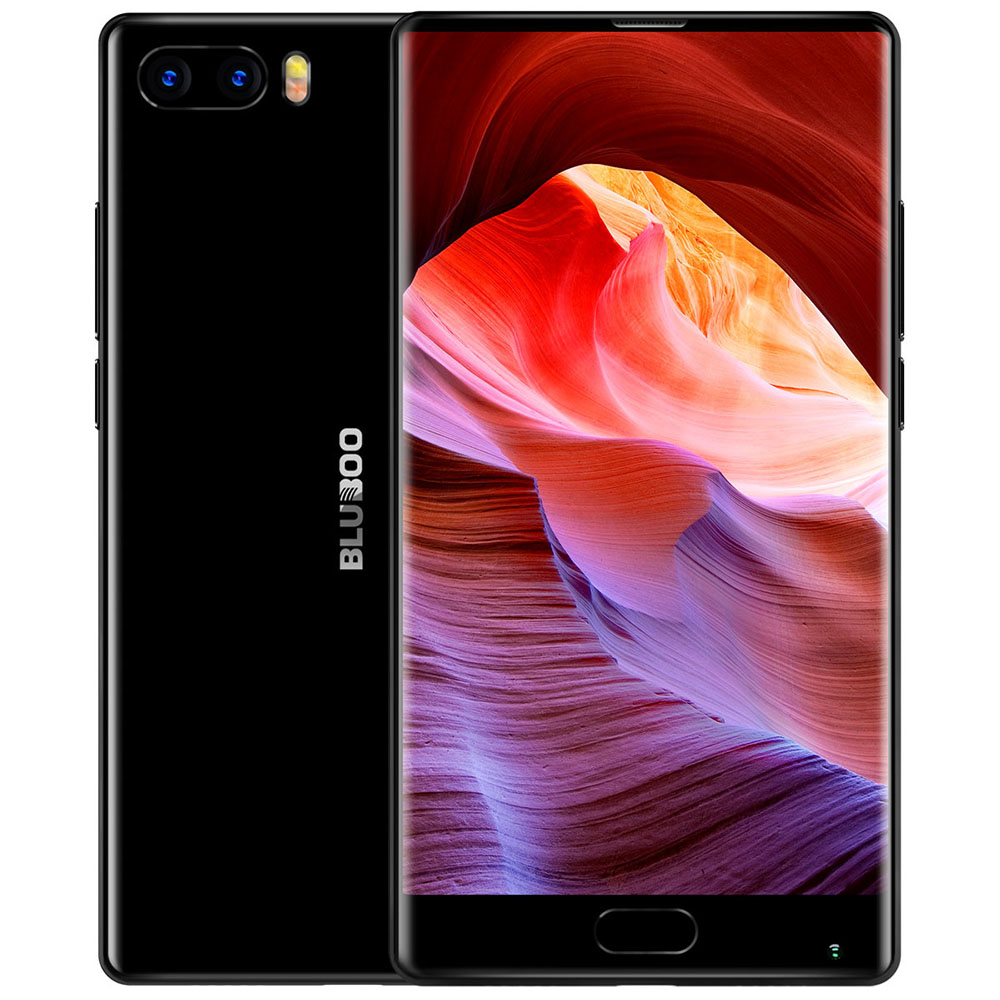 Bluboo S1 Android 7.0 4G Phablet Smartphone 5.5 Pouces Helio P25 Octa Core 2.5 GHz 4 GB RAM 64 GB 13.0MP 3.0MP Arrière Caméra d'empreintes digitales