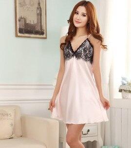 Fashion NEW Women's Sleepwear   nightgown   Women's Home Clothes   sleepshirt   nightdress Free Shipping