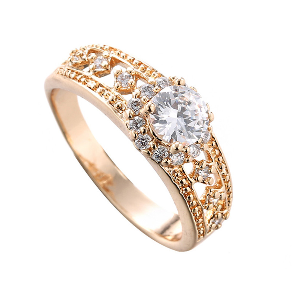5 Pc Lot Anillos Mujer Wedding Rings Engagement Anel