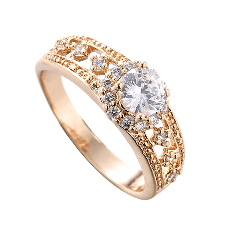 5 PC/Lot Anillos Mujer Wedding Rings Engagement Anel Feminino ...