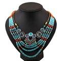 2016 La Última Joyería de Moda Nueva Llegada Colgantes y Collares Del estilo de Bohemia Grande de Lujo Collar de la Declaración para Las Mujeres