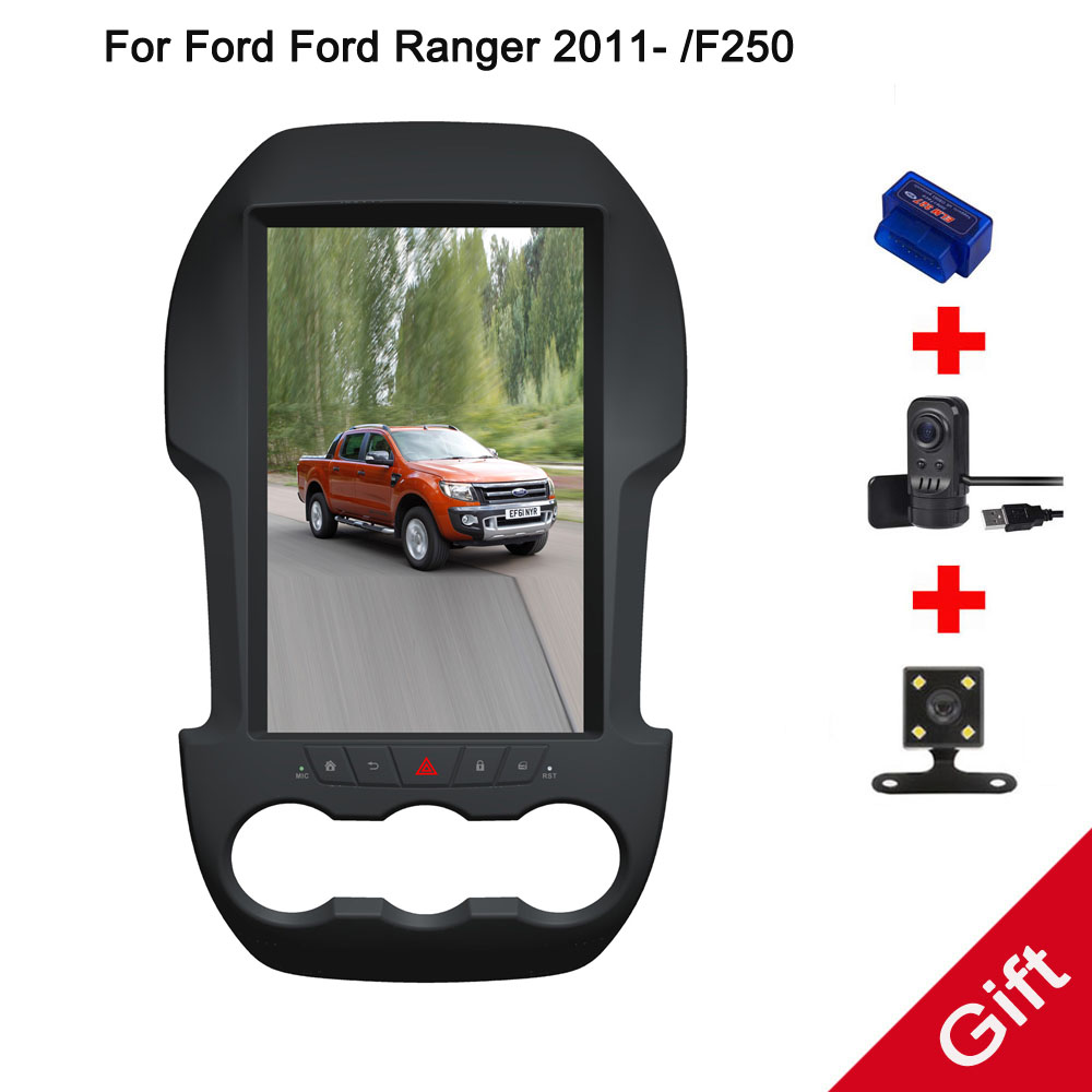12 1 Tesla Android 7 1 Fit Ford Ford Ranger 2011 F250 AUTO A C Car