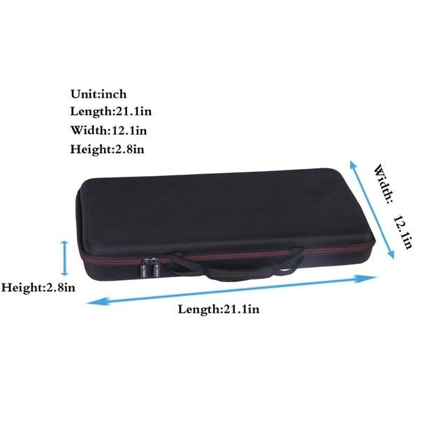 LTGEM Case for Pioneer DJ DDJ-SB3 / DDJ-SB2 / DDJ-400 or Portable 2-channel Controller or DDJ-RB Performance DJ Controller-Black 1