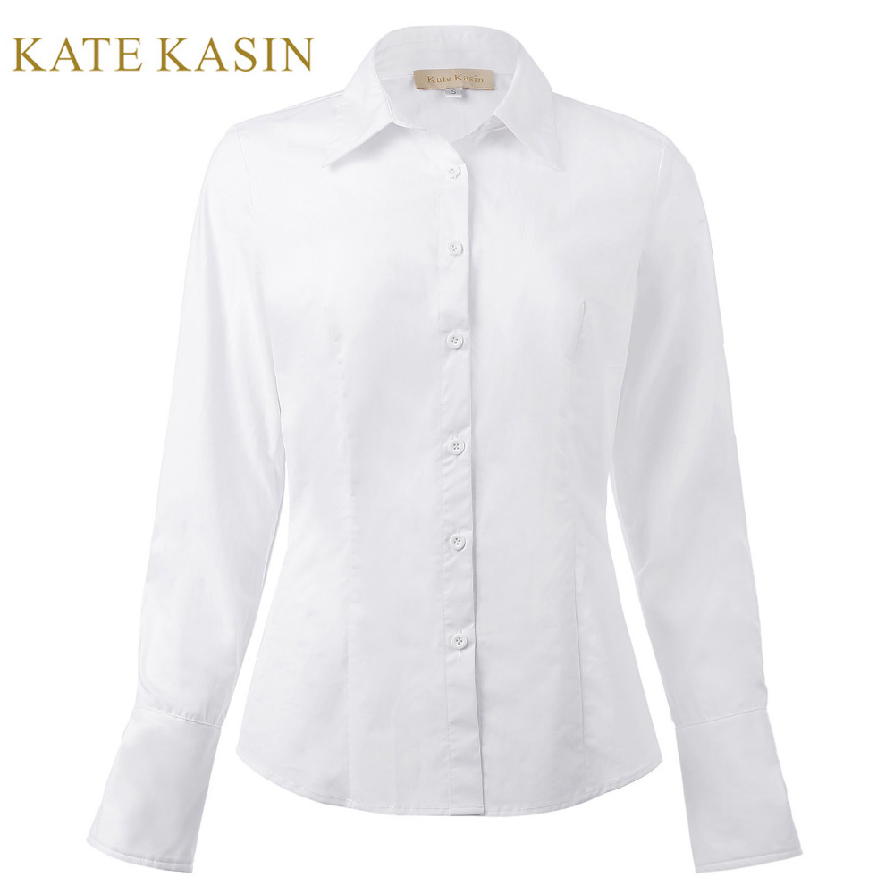 Online Get Cheap Fitted White Blouse -Aliexpress.com   Alibaba Group