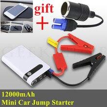 font b 2017 b font Starting Device 12000mAh Car Jump Starter Mini Power Bank 12V