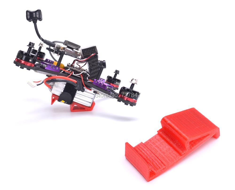NEW 30 Degree Landing Gear 3D Printing TPU Support Handing Battery for FPV RC Racing Drone  QAV X/ ix5 ZMR250 FPV frame kit