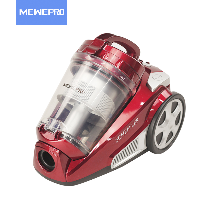MEWEPRO Red Canister Vacuum Cleaner Aspirator for Home Cyclone Filter Dustcontainer Staubsauger XL-812 o ring for eheim 2213 and 2013 canister filters red