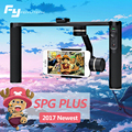 2017 FY Feiyu SPG Plus 3 Axis for Mobile phones and cameras Handheld Gimbal Bluetooth for i phone7/6 Huawei Gopro 3/4/5 In Stock