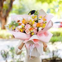 20PCS 58 58 CM Flower Wrapping Paper DIY Packaging Gift Wrapping Decoration Wedding Bouquet Florist Wrapping