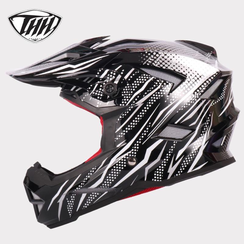 Thh T42 Downhill Helmet Cross Helmet Professional Off Road