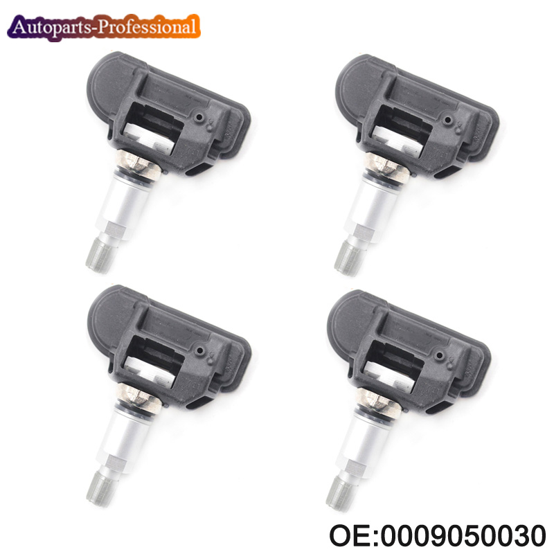 4 pcs lot Tire Pressure Sensor TPMS Sensor 0009050030 A0009050030 670002790 For Mercedes Benz 433MHZ High