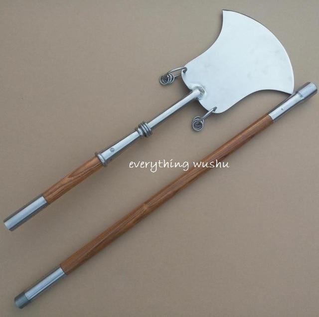 Practical Wushu Monk Spade Fang Bian Chan
