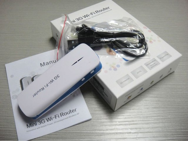 portable 3G wifi router