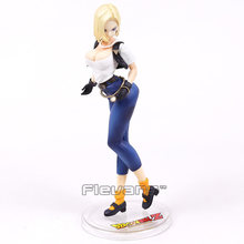 Dragon Ball Z Galões Android NO. 18 Ver. II PVC Figure Collectible Modelo Toy 22 cm(China)