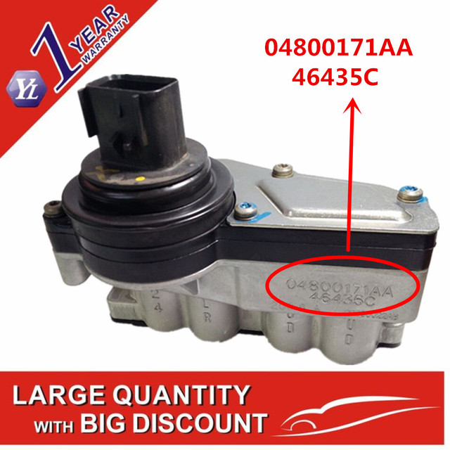 US $118 43 25% OFF|Original Transmission Solenoid Block Pack For Jeep  Wrangler Liberty Chrysler 2003up 04800171AA 46435C 42RLE Used Tested-in