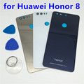 New OEM Glass Rear Back Cover Battery Door Housing for Huawei Honor 8 Back Battery Door Case Glass Replacement with Tools
