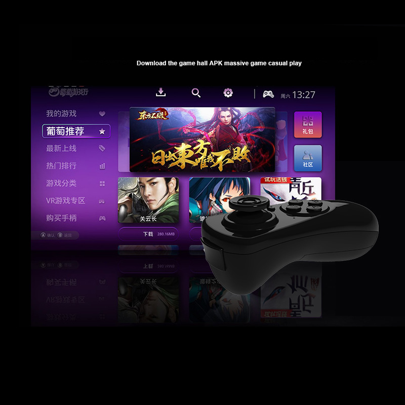 Wireless Bluetooth Gamepad TV PC VR Remote Controller For Android Joystick Game ios gamepa Control For 3D Glasses VR BOX 20