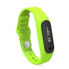 Водонепроницаемый Сенсорный экран Спорт Смарт группы браслет E06 Браслет фитнес-трекер сна Bluetooth часы для iPhone Android X25