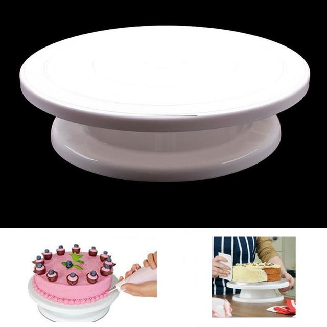 Piastra Girevole torta Girevole Torta Sugarcraft Turntable Decorazione Del Basam