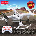 Envío Gratis 100% Original SYMA X13 Tormenta Mini RC Quadcopter 2.4G 6-Axis Drone Headless Helicóptero Juguetes Regalos VS H22 H21 H8 Mini