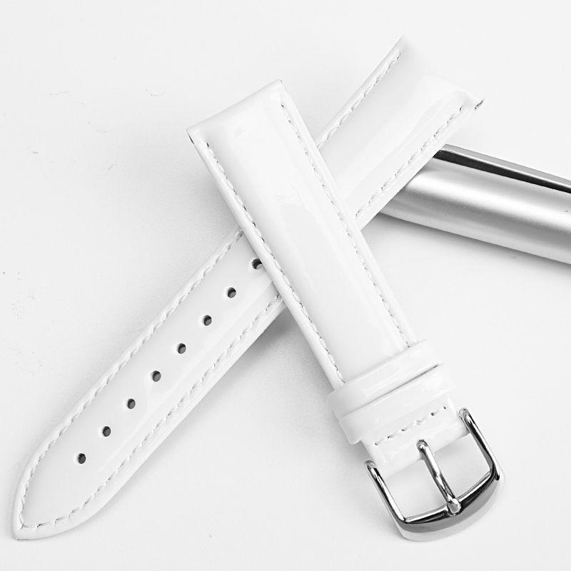 MAIKES uus disain 12mm 14mm 16mm 18mm 20mm valge pehme kellarihm - Kellade tarvikud - Foto 4