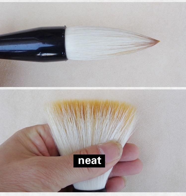 Hopper em forma de Cabelos doninha Pincel