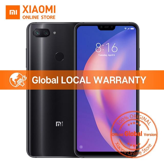 """Versión Global Xiaomi mi 8 Lite 6 GB 128 GB 6,26 """"19:9 Pantalla de muesca completa Snapdragon 660 Octa Core 24MP cámara frontal smartphone"""