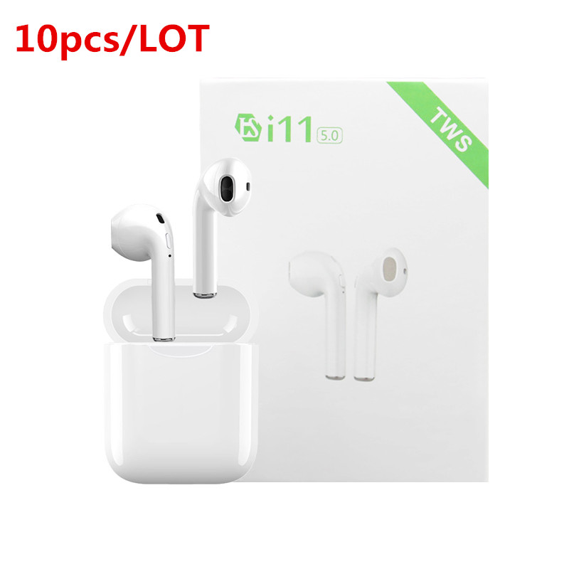 US $69.99  10 pcslot i11 TWS Bluetooth 5.0 Wireless Earphones Earpieces mini Earbuds i7s With Mic For iPhone 6s X 7 8 Samsung S6 S8 Xiaomi Bluetooth