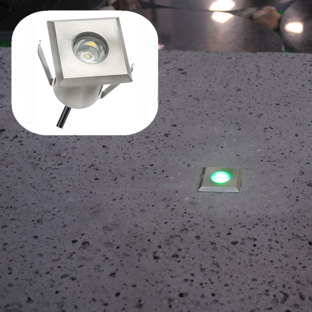10pcs/Set Squared Shape Aluminum LED Park Light in Floor/Deck ...