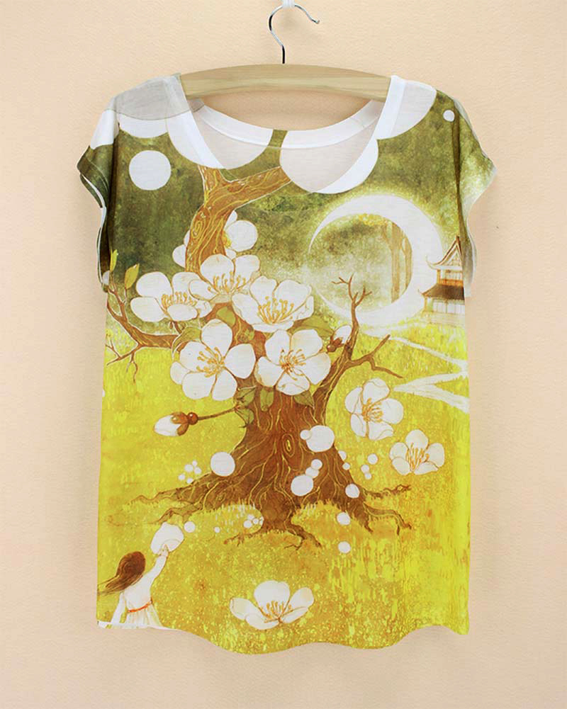 Peach tree design reviews online shopping peach tree for Peach tree designs