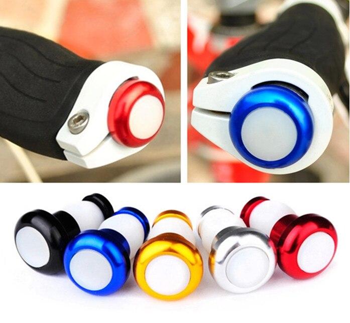 2X LED Bike Bicycle Handlebar End Plug Turn Signal Indicator Light Warning Lamp