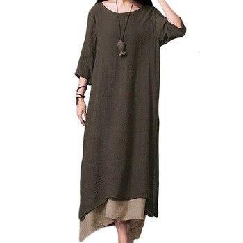 2019 Summer Dress Women Vintage Boho Dress Plus Size 3XL 4XL 5XL Retro Maxi Dress Irregular Bohemian Long Dresses robe female
