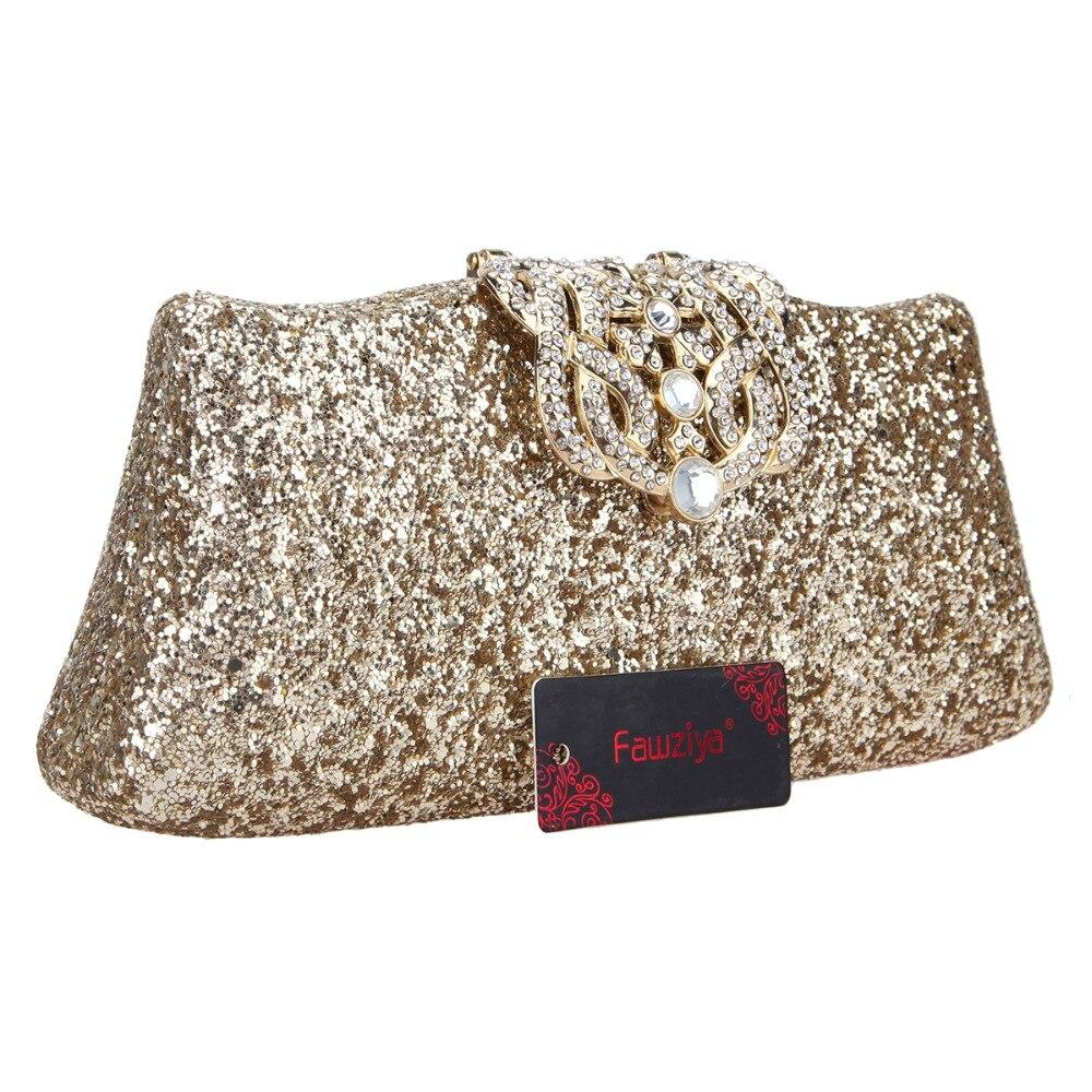 Fawziya Glitter Evening Bag Bling Crown Clutch Purses For Women ... 3ffe611726ba