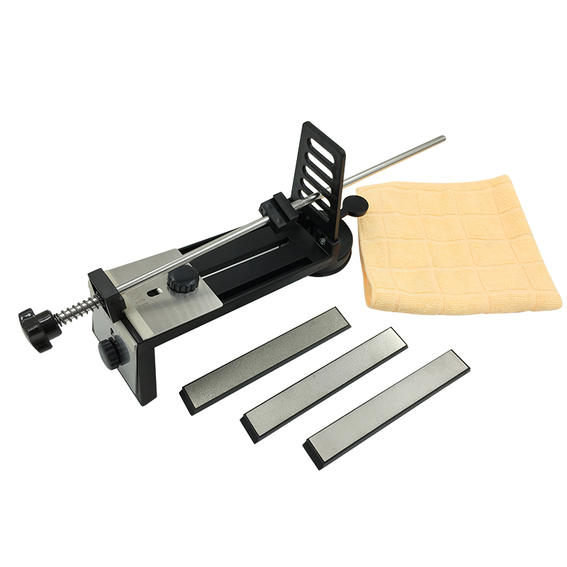 DMD Professional Kitchen Sharpening Knife scissors Sharpener System Fix Fixed Angle with Diamond Stones 240 600