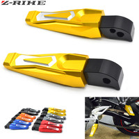 Motorcycle Accessories CNC Motorcycle Rear Passenger Foot Pegs Pedals Footrests For Yamaha YZF R3 YZF R3 MT 07 MT07 YZF R300 R3