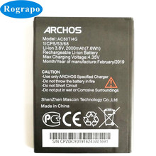 a9edc59b153a81 New 2000mAh AC50TI4G High Quality Replacement Battery Baterij For ARCHOS 50  Titanium 4G Mobile Phone Batteries