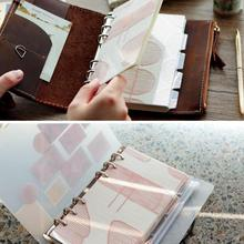 5pcs/set A5 A6 Planner Divider Sketchbook Diary Journal Agenda Spiral Loose Leaf Creative Stationery Office School Supplies