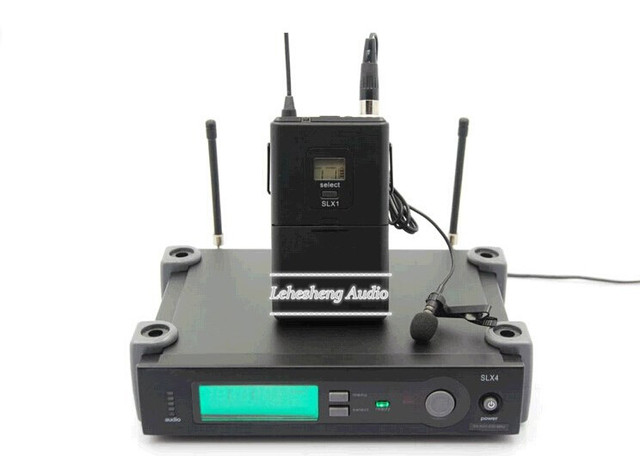 Professional UHF Wireless Microphone SLX14 Cordless Microfone Lapela