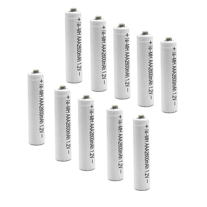 8/10/14 Ni-MH 1.2V AAA Rechargeable 2600mAh 3A Neutral Battery Rechargeable Battery ,Free Shipping