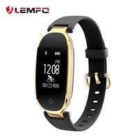 LEMFO S3 Fitness Bracelet Women Smart Band Heart Rate Monitor Fitness Bracelet Waterproof IP68 Gift To