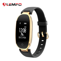 LEMFO S3 Fitness Bracelet Women Smart Band Heart Rate Monitor Fitness Bracelet Waterproof IP68 Gift To
