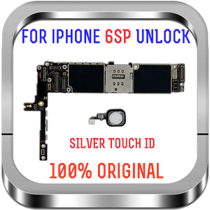 Image 3 - 16gb / 64gb / 128gb  unlocked for iPhone 6S Plus Motherboard with / without Touch ID Logic board for iphone 6s 5.5inch