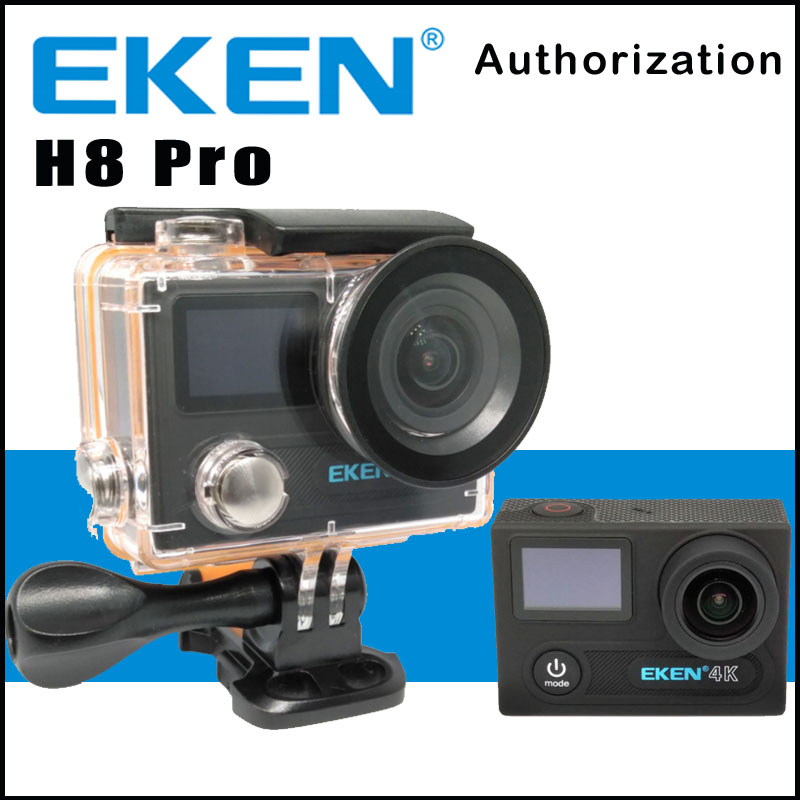 Action Camera EKEN H8 PRO Remote Control Ultra HD 4K Ambarella A12 WiFi 170 Helmet action Cam go waterproof pro Sport camera